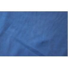 Ensfarvet koboltblå jersey