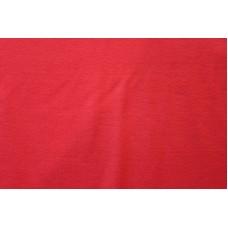 Ensfarvet rød jersey