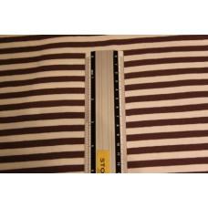 Hvide og brune striber