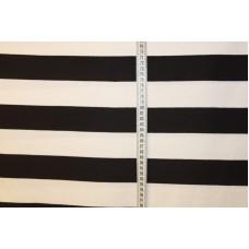 Sorte og hvide striber 5  cm