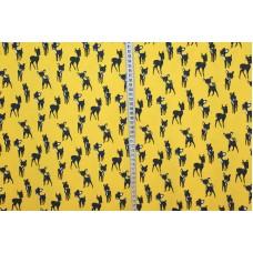 Bambier på gul