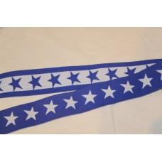 Koboltblå eller hvide stjerner 40 mm