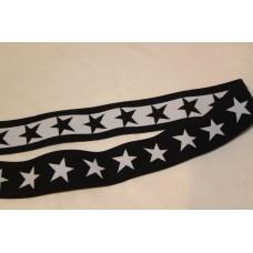 Sorte eller hvide stjerner 40 mm