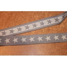 Grå eller  lysegrå stjerner 40 mm