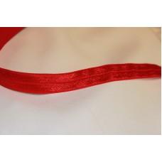 Rød foldeelastik