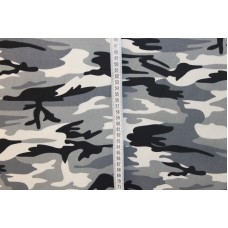 Army print grå