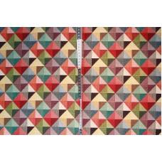 Farvede trekanter i firkanter