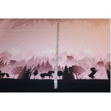 Wild shadows- enhjørninge i skoven på rosa