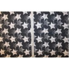 Stjerner på marineblå