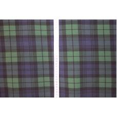 Skotsk ternet grøn blå