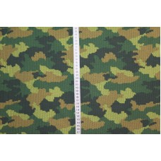 Camouflageprint lavet som masker