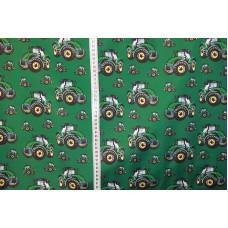 John Deere traktorer på grøn