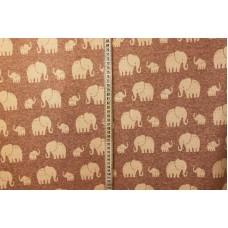 Lyserød med elefanter